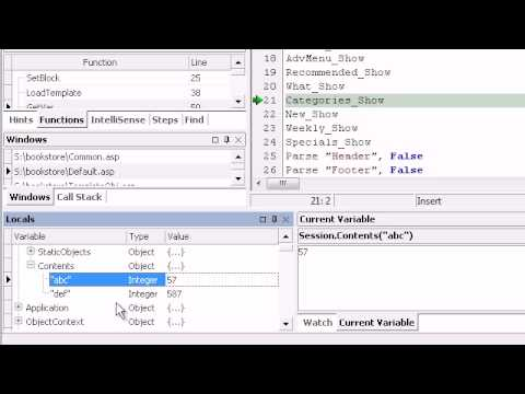 Debug ASP pages  Team Remote ASP Debugger  ASP Debugging Tool