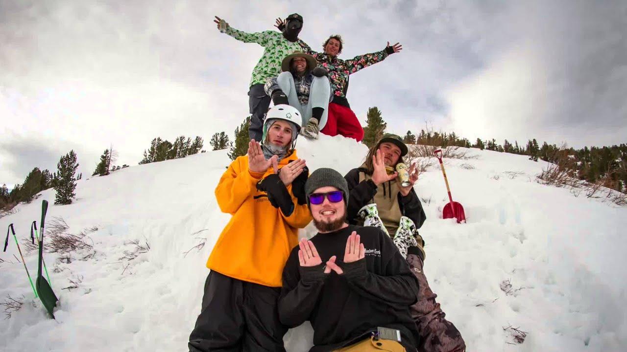NAU SKI and SNOWBOARD CLUB Spring Break 1999 - YouTube