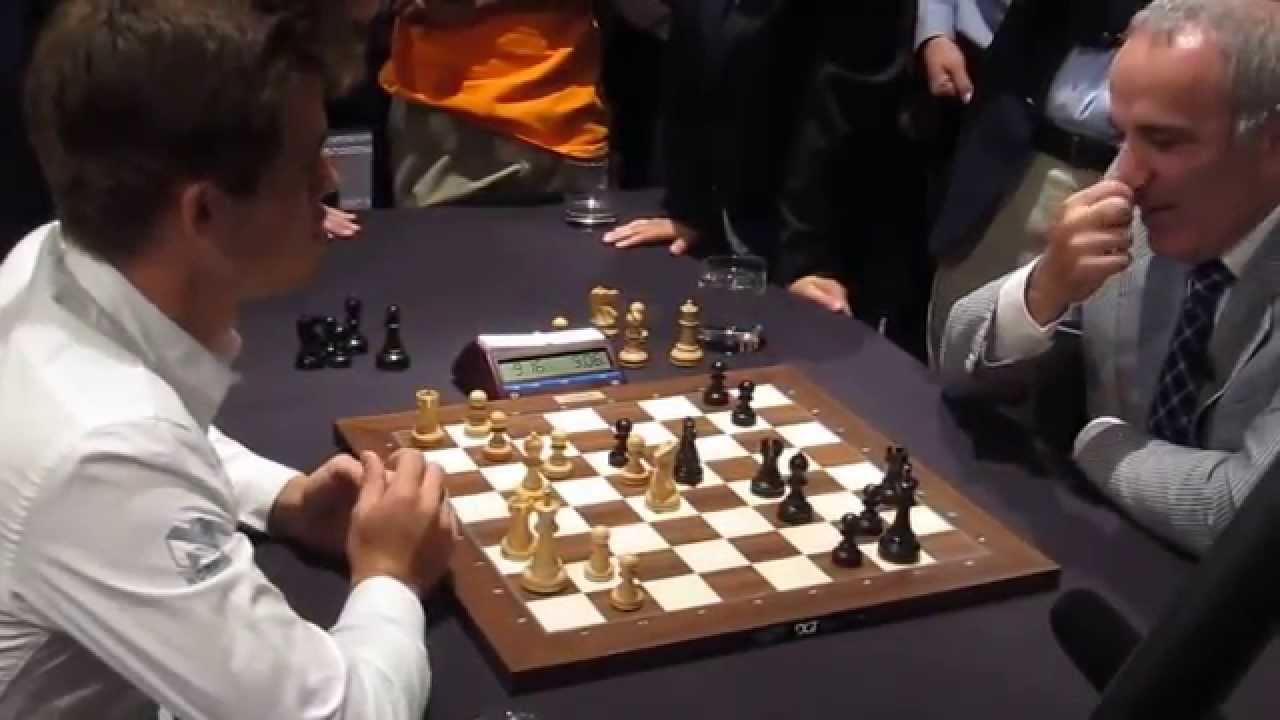 Magnus Carlsen Vs Garry Kasparov Youtube