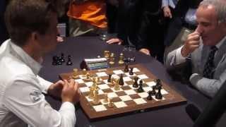 Magnus Carlsen vs Garry Kasparov
