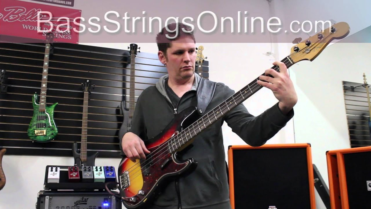 new dunlop flatwound electric bass strings youtube. Black Bedroom Furniture Sets. Home Design Ideas