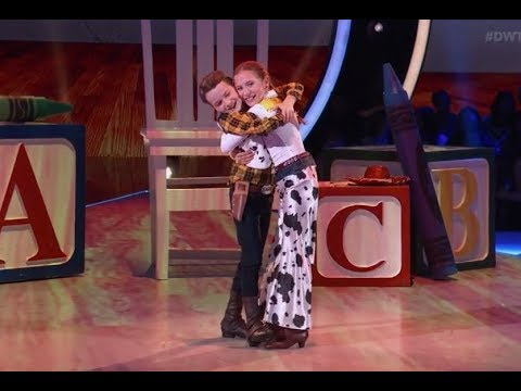 Jason Maybaum & Elliana Walmsley - Dancing With The Stars Juniors (DWTS Juniors) Episode 3