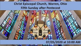 Christ Episcopal Church, Warren, OH 07/05/2020