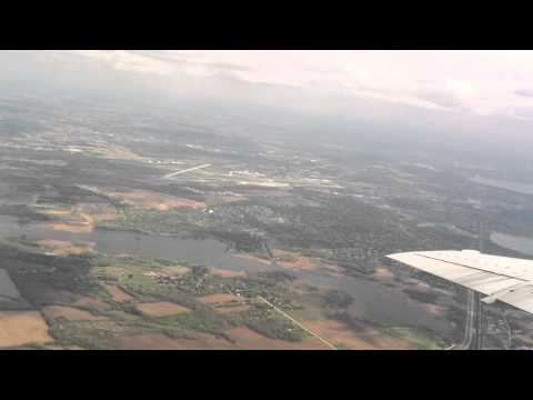 Takeoff from Dane County Regional Airport - Madison, Wisconsin - MSN