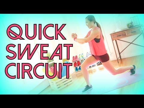 Quick Sweat Fat Burning Circuit!