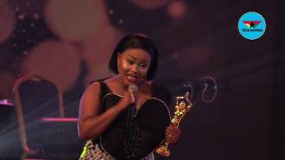 Ghana Movie Awards: Nana Ama McBrown wins Favourite Actress
