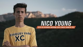 Nico Young: 2019-20 Gatorade National Boys Cross Country Runner of the Year