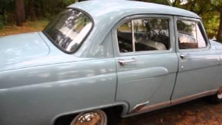 Wolga GAZ - M21 Baujahr 1961 II Generation mit dem Hirsch