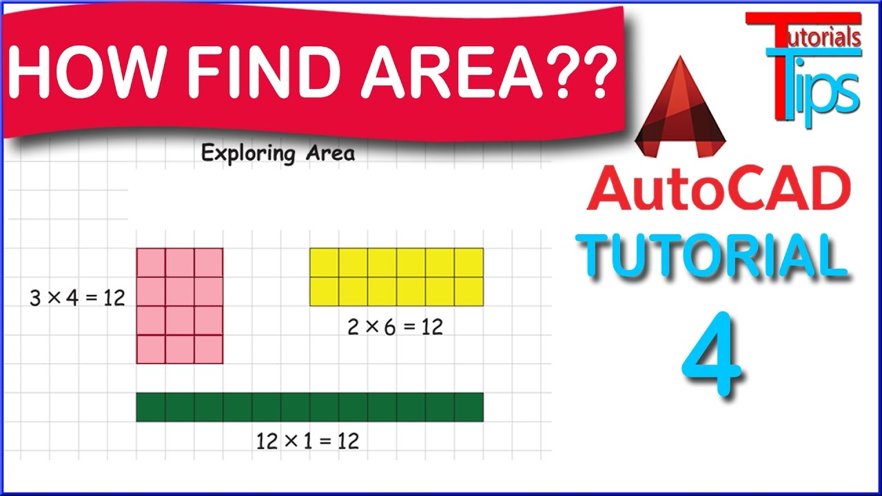 How To Find Area In Autocad  Autocad Hindi Tutorial 4  Area , List Mand Use In Autocad [hindi]