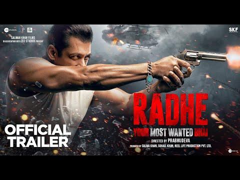 Radhe   Trailer   Salman Khan   Disha Patani   Randeep Hooda   Jackie Shroff   Prabhudeva   13 May
