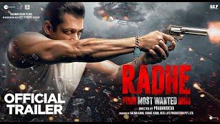 Radhe | Trailer | Salman Khan | Disha Patani | Randeep Hooda | Jackie Shroff | Prabhudeva | 13 May