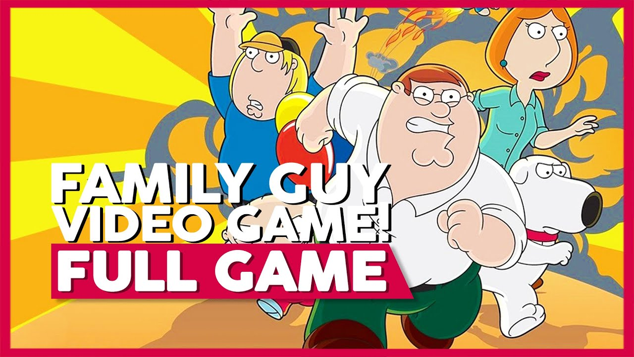 Family Guy Video Game!   Full Gameplay/Playthrough   No Commentary [PS2,PSP,Xbox] (60FPS)