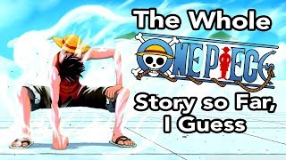 Gambar cover the whole One Piece story so far, i guess