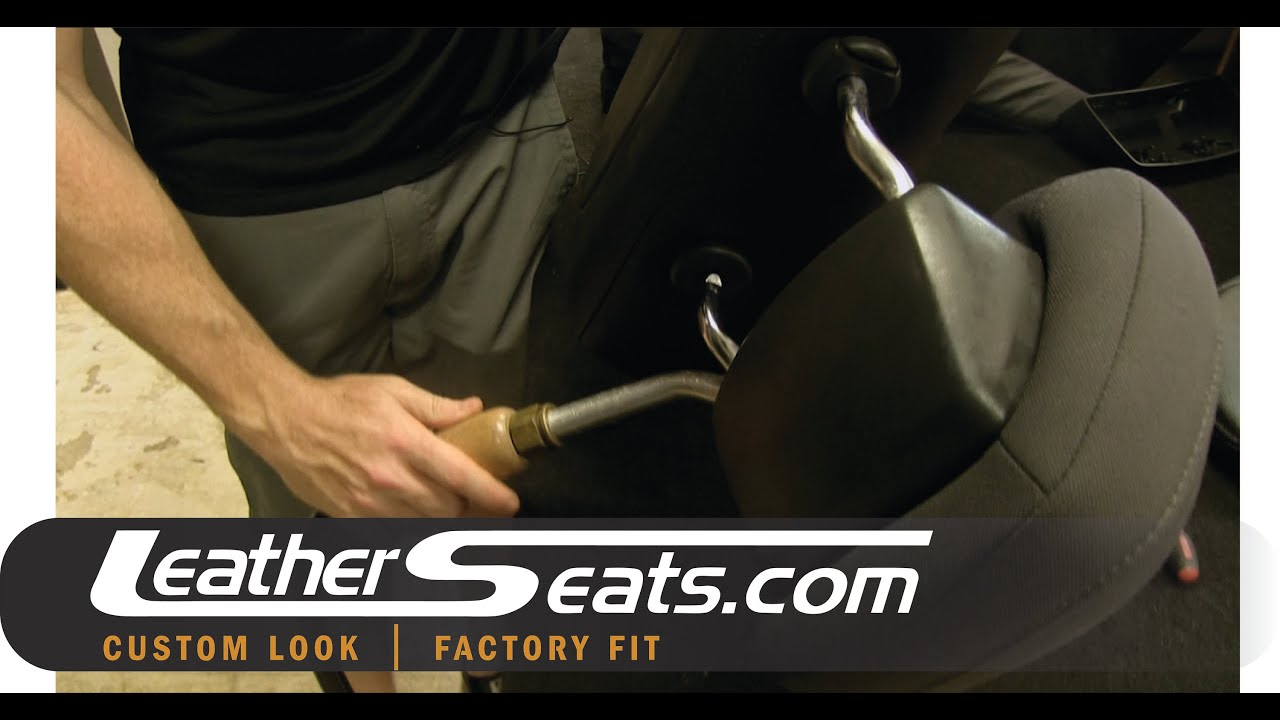 How To Install Replacement Covers On The Chrysler Jeep Dodge Patriot Touch Screen Wiring Diagram Active Headrest