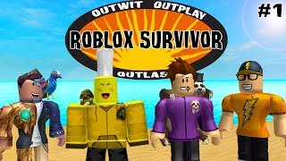 ONLY YOUTUBERS ROBLOX SURVIVOR (Season 2, Episode 1)