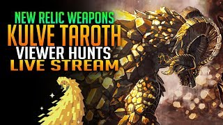 Monster Hunter World PS4 Pro - Get Your Relic Weapons! Kulve Taroth Viewer Hunts! [Live Gameplay]