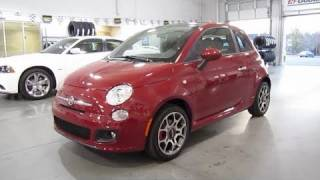 2012 Fiat 500 Sport Start Up, Exhaust, and In Depth Tour