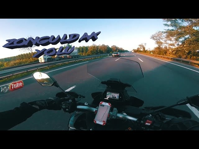 Yamaha Tracer 900 GT // Zonguldak Yol Videosu