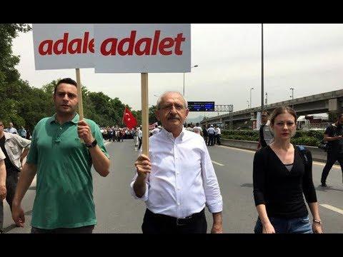 Adalet yürüyüşü: CHP üzerindeki ölü toprağını atıyor
