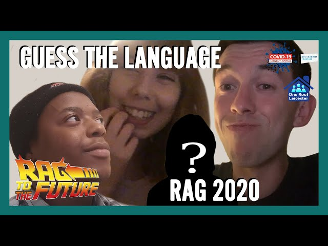 Guess The Language | RAG 2020