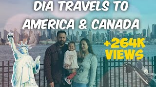 Traveling with a 1 year old baby from Kathmandu to New York to Vancouver for wedding