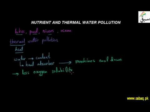 Nutrient and Thermal Water Pollution