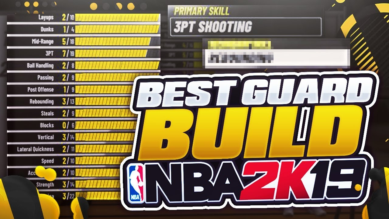 All Best Point Shooting Guard Small Forward Builds In Nba 2k19 Best Shooting Dribbling Builds Youtube