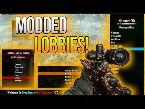 Black Ops 2 Modded Lobbies|ZombieLand|Prop Hunt| & Cohosts!