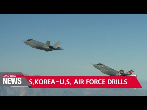 S. Korea-U.S. ready for air force joint drills against N. Korea's missile provocations