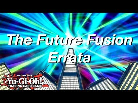 Yu-Gi-Oh! The Future Fusion Errata!