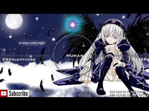 Nightcore - Human - Krewella