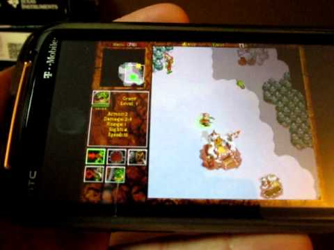 DosBox Turbo For Android Playing Warcraft II And DOOM