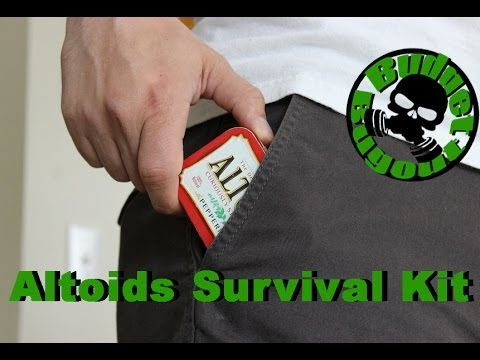 Altoids Survival Tin - Survival Kit In A Can!