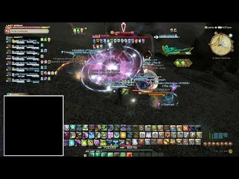 Killing The A Rank Huracan in Final Fantasy XIV Shadowbringers Early Access