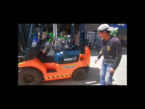 M-forklift  Review  Toyota 7FG15-450