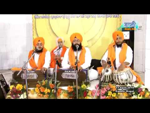 Bhai-Gurmeet-Singhji-Saharanpuri-Amritsar-Wale-At-Gandhi-Nagar-On-11-April-2015