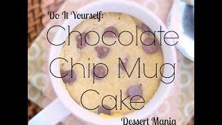 How To Make: Easy & Quick Chocolate Chip Mug Cake