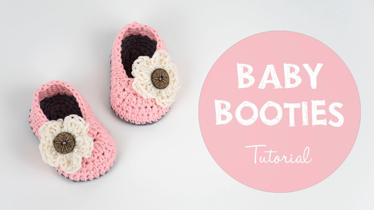 d59e689955626 25 Cutest Free Crochet Baby Booties Patterns