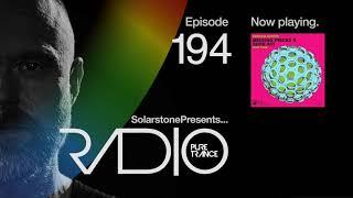 Solarstone pres. Pure Trance Radio Episode #194