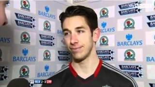 Brad Jones Interview After Blackburn V Liverpool (10/4/12)