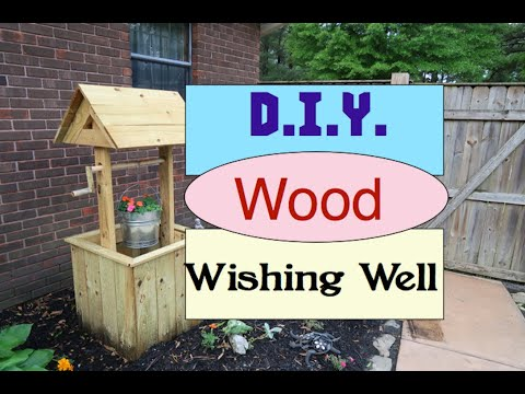 diy-wood-wishing-well