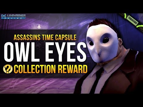 "DCUO: ""Owl Eyes"" Collection Reward - Court of Owls Mask 