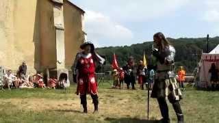 Staré Hrady - hrad a zámek, rytířský turnaj