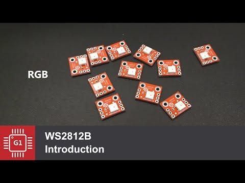 Адресные светодиоды WS2812B с Arduino или ESP, #LCSC