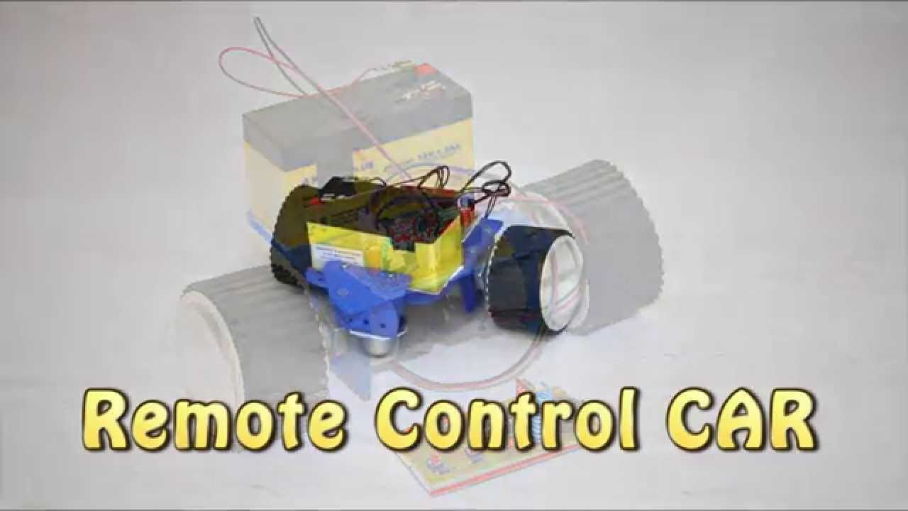 how to make a remote control car youtube. Black Bedroom Furniture Sets. Home Design Ideas