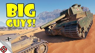 World of Tanks - Funny Moments | BIG GUYS! #3 (WoT, June 2018)