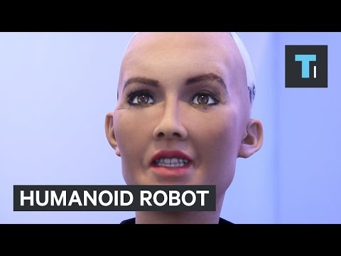 This lifelike robot could be straight out of 'Westworld'