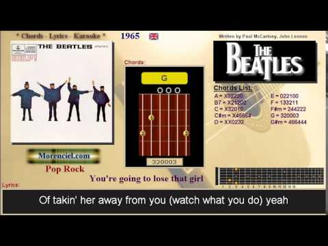 The Beatles Youre Going To Lose That Girl 0330 Youtube