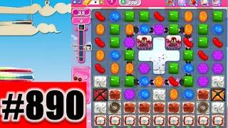 Candy Crush Saga Level 890 | Complete!