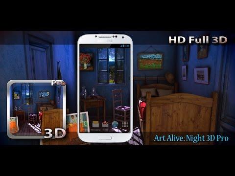 Art Alive: Night 3D Pro LWP